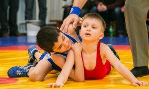 Соревнования по греко-римской борьбе среди юношей @  детско-юношеская спортивная школа № 4 (улица Отрадная, 8 а)