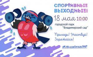 """Спортивные выходные @ Парк """"Владимирский сад"""""""