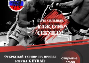 Супер-турнир по смешанным единоборствам ММА на призы клуба «Geydar»