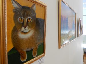 Выставка работ «наивных живописцев» @ Выставочная галерея большого зала Ленинского Мемориала