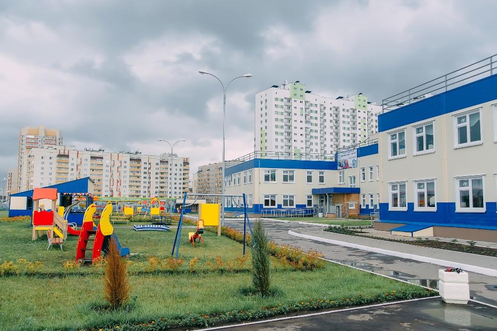 Детский сад в микрорайоне Центральный