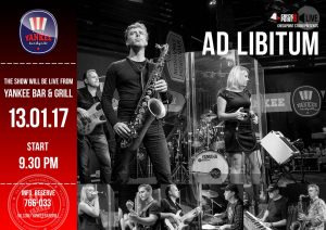 """Выступление группы """"Ad libitum"""" @ YANKEE Bar & Grill"""