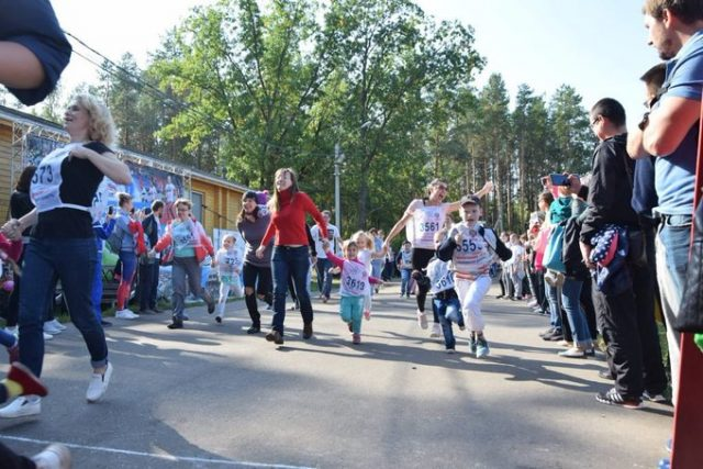 Соревнования по бегу «Кросс Наций-2019» @ «Заря»