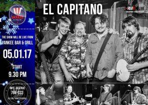 """Выступление группы """"El capitano"""" @ YANKEE Bar & Grill"""