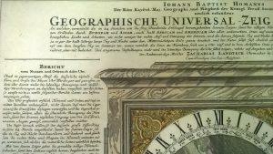 Выставка одного экспоната «Гравюра «Географические универсальные часы» @ Музей «Метеорологическая станция Симбирска» (ул.Л.Толстого, д.67)
