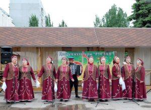 Концертная программа «Нас песня к Победе вела», посвящённая 73-ей годовщине Победы в Великой Отечественной войне @ Площадь перед Дворцом культуры «Руслан»