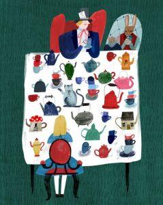 Литературный пикник «Безумное чаепитие» @ На площадке перед Дворцом книги