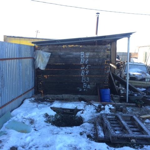 Вцентре Ульяновска загорелась баня