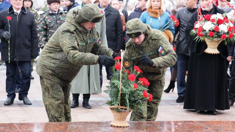 можете день неизвестного солдата поздравление от главы всем интересно
