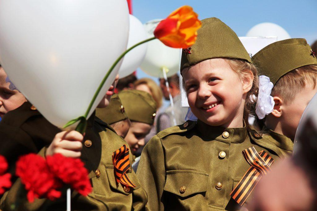 фото с днем победы с детьми многие