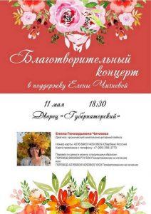 Благотворительный концерт в поддержку Елены Чичневой @ ДК Губернаторский