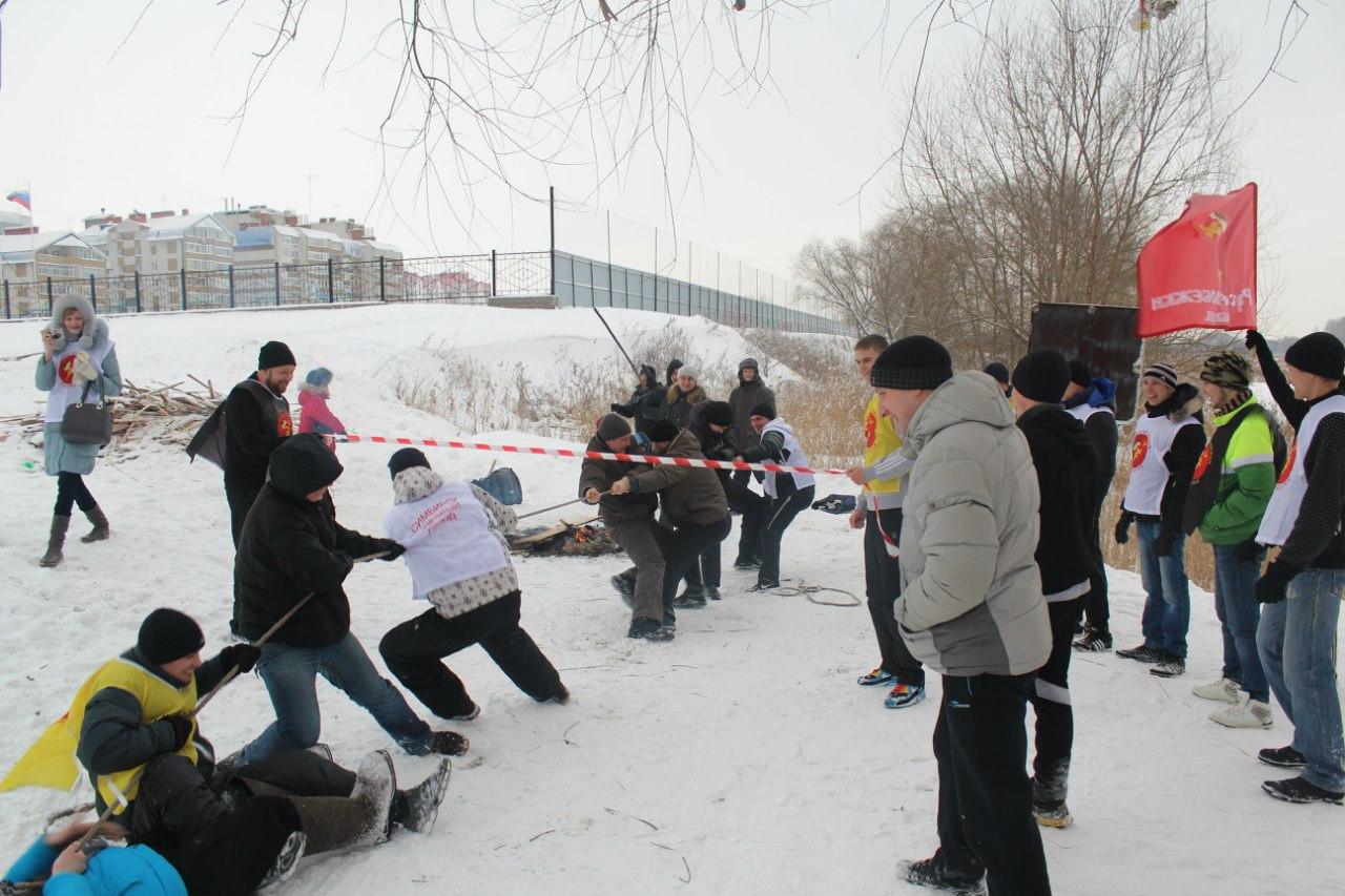 Купания и русские народные игры