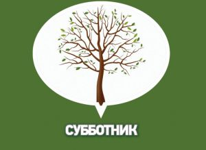 """Субботник """"В чистом районе-чистый парк"""" @ На территории парка """"Прибрежный"""""""