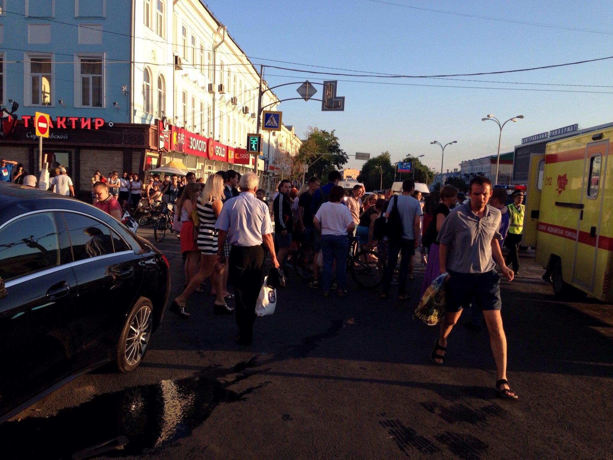 Учебный центр ульяновск сбили девушку фото