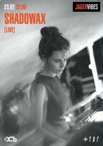 Выступление проекта Мирабеллы Карьяновой Shadowax @ клуб ОСЬ (улица Гончарова, 21А/10)