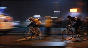 Ночная велогонка @ Старт: Веломастерская ЛОСЬ (Робеспьера, д. 79)