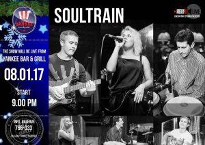 "Выступление группы ""Soultrain"" @ YANKEE Bar & Grill"