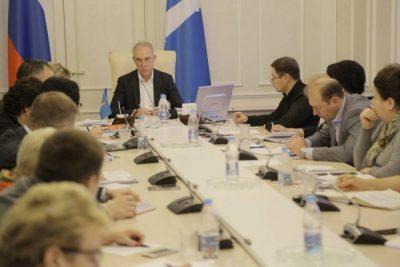 Тематическое совещание с Губернатором в лицее №20 @ Лицей №20 (б-р Новосондецкий, д. 4)