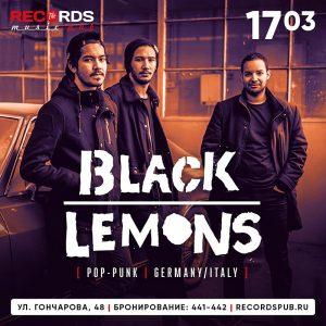 """Выступление группы """"BLACK LEMONS"""" @ Records Music Pub (ул. Гончарова, 48)"""