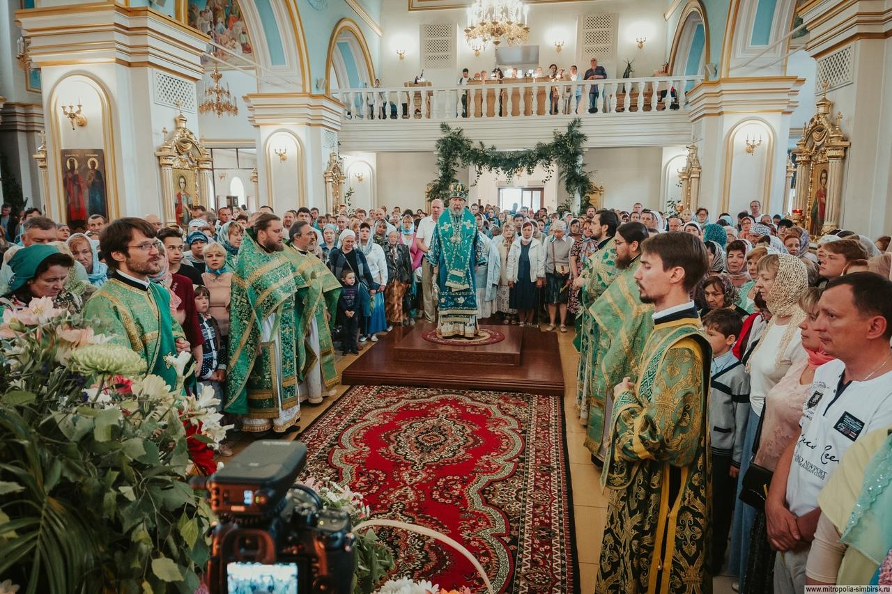 ульяновск празднование троицы фото его очень любите
