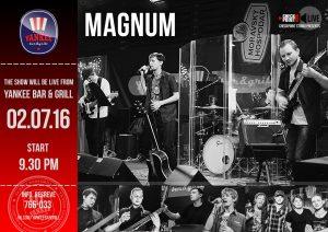 """Выступление группы """"MAGNUM"""" @  YANKEE Bar & Grill"""