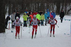 Третий этап кубка области по лыжным гонкам @ ст.Охотничья