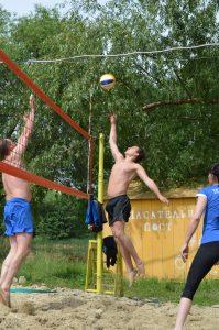 Чемпионат по пляжному волейболу в рамках реализации комплекса мероприятий для молодёжи, работающей на предприятиях Ульяновской области «PROдвижение – 2018» @ Центральный пляж
