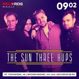 """Выступление группы """"THE SUN THREE HUPS"""" @ Records Music Pub (ул. Гончарова, 48)"""