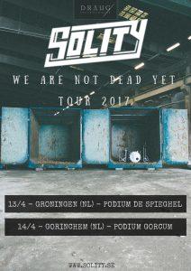 "Концерт группы ""SOLITY"" (Швеция) @ BIKER CLUB HOUSE (ул. Федерации, д. 18)"