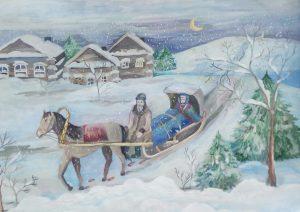 Выставка «Зимняя сказка» @ Детский музейный центр Музея-заповедника «Родина В.И.Ленина» (ул.Л.Толстого, д.49)