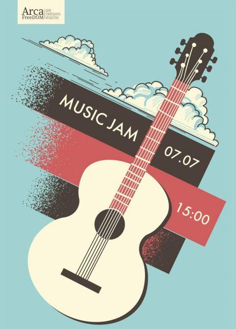 MUSIC JAM в Arca FreeDom @ Arca FreeDom
