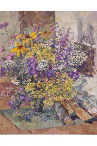 Выставка Людмилы Слесарской «Язык цветов» @ Выставочный зал «На Покровской» (ул.Л.Толстого, д.63)