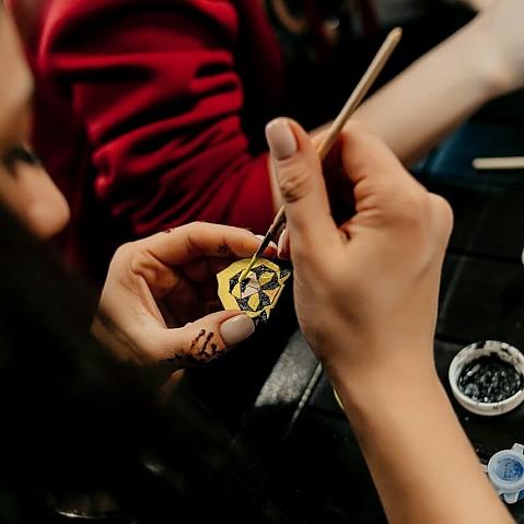 Мастер-класс Роспись значков из дерева @ DVERI арт-объединение пр-т Созидателей, 36а