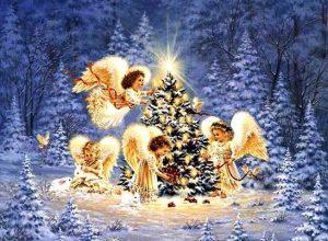 """Музыкально-развлекательная программа для детей """"Свет Рождества"""" @ Парк «Победа»"""