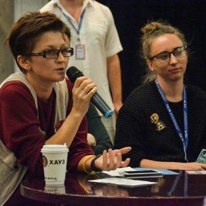 Школа профессий: театральный журналист  с Олесей Кренской @ Клуб активных родителей (ул. Бебеля, 39)