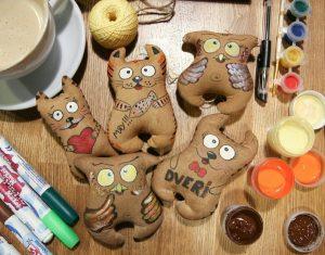 Мастер-класс по изготовлению кофейных игрушек