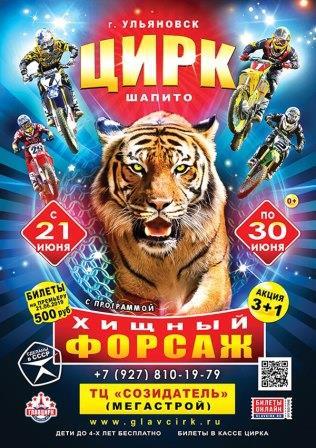 Цирковое шоу «Хищный Форсаж»