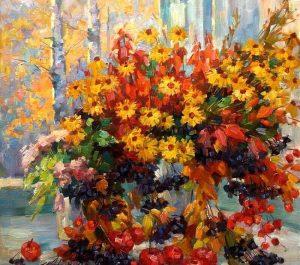 Новый осенний мастер-класс по живописи от Сергея Филиппова @ Arca FreeDom (Радищева, д. 6)