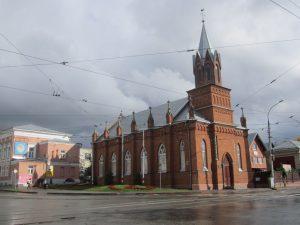 Экскурсия в Евангелическо-лютеранскую церковь Святой Марии @ Лютеранская церковь ул. Ленина, 100