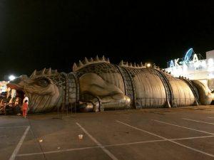 АТТРАКЦИОН  Гигантский динозавр @ торгово-развлекательный комплекс (Московское шоссе, 108)