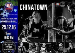 "Выступление группы ""CHINATOWN"" @ YANKEE Bar & Grill"