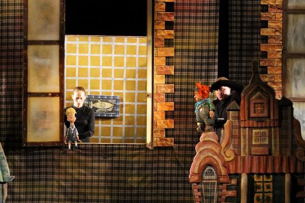 """Спектакль """"Малыш и Карлсон, который живет на крыше"""" @ Кукольный театр"""