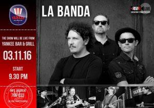 """Выступление группы """"LA BANDA"""" @ YANKEE Bar & Grill"""