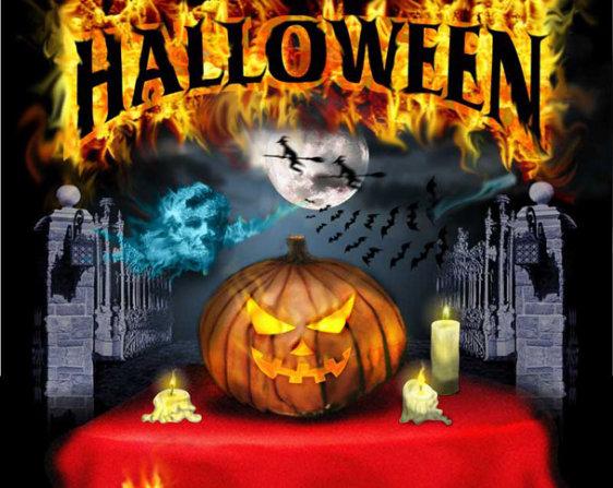 """Вечеринка Halloween в РК """"Пятое солнце"""" @ РК """"Пятое солнце"""""""