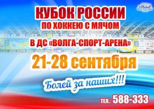 Кубок России по хоккею с мячом. «Динамо-Казань» — «Строитель»