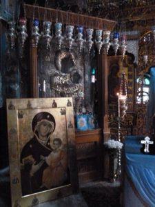 Прибытие Табынской иконы Пресвятой Богородицы и ковчега, с 20-ю частицами Святых мощей, угодников Божиих