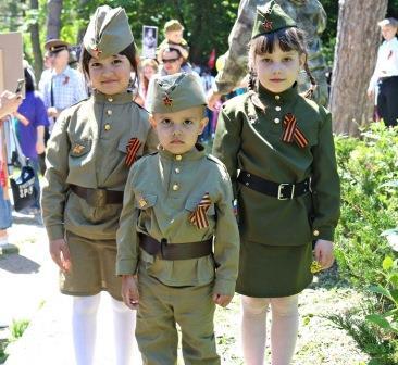 Детский парад «Мы – наследники Великой Победы!» @ Соборная площадь, 1 (дом Правительства Ульяновской области)