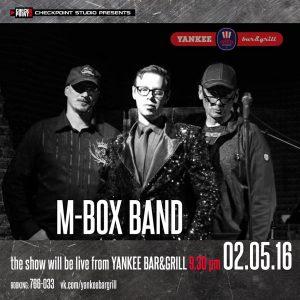 """Выступление группы """"M-BOX BAND"""" @ YANKEE Bar & Grill"""