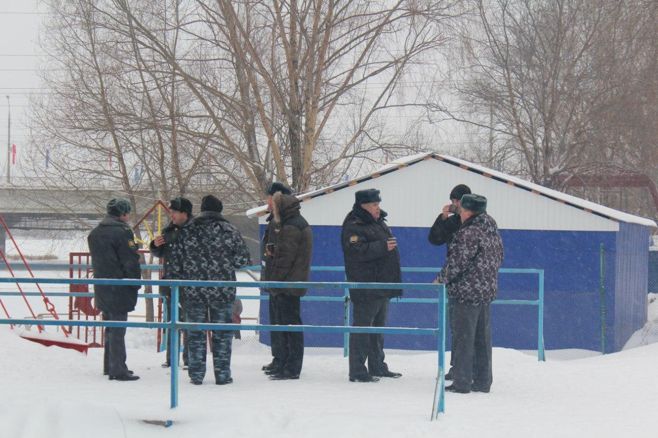 Состоялись русские народные игры