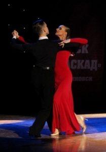 Отчетный концерт народного коллектива ансамбля спортивного бального танца «Каскад» @ Дворец «Губернаторский»